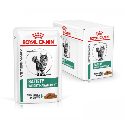 Royal Canin для котов SATIETY WEIGHT MANAGEMENT -Пауч