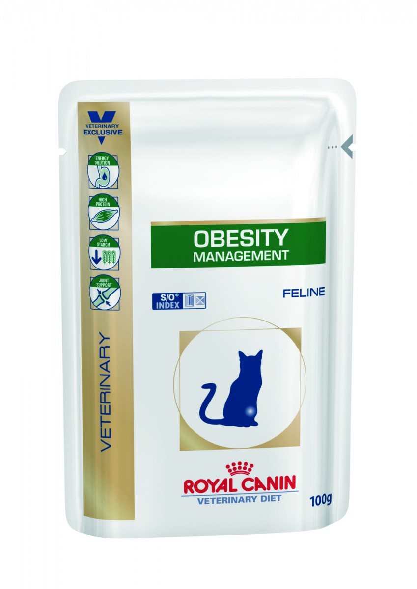 купить Royal Canin для котов OBESITY Management пауч