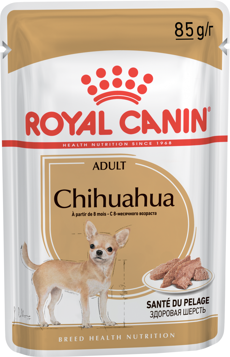 купить Royal Canin для собак CHIHUAHUA Adult (пауч)