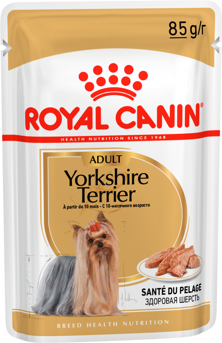 купить Royal Canin для собак YORKSHIRE TERRIER Adult (пауч)