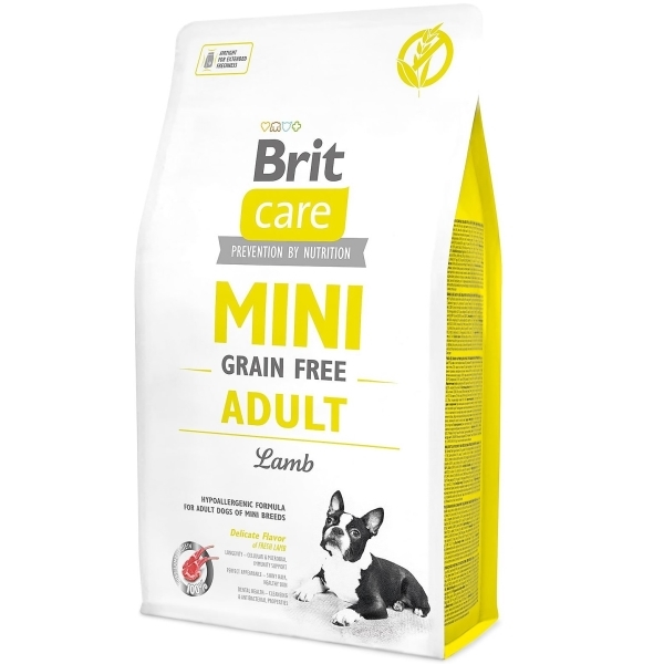 Brit Care GF Mini Adult для малых собак (ягнёнок)