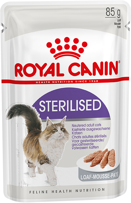 Royal Canin для котов STERILISED Пауч паштет