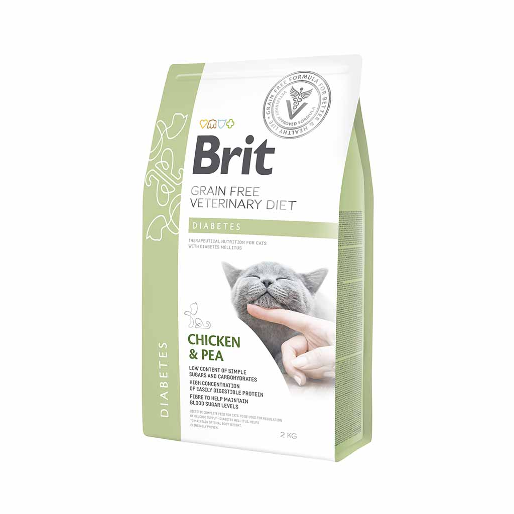 купить Brit GF Veterinary Diet для котов DIABETES