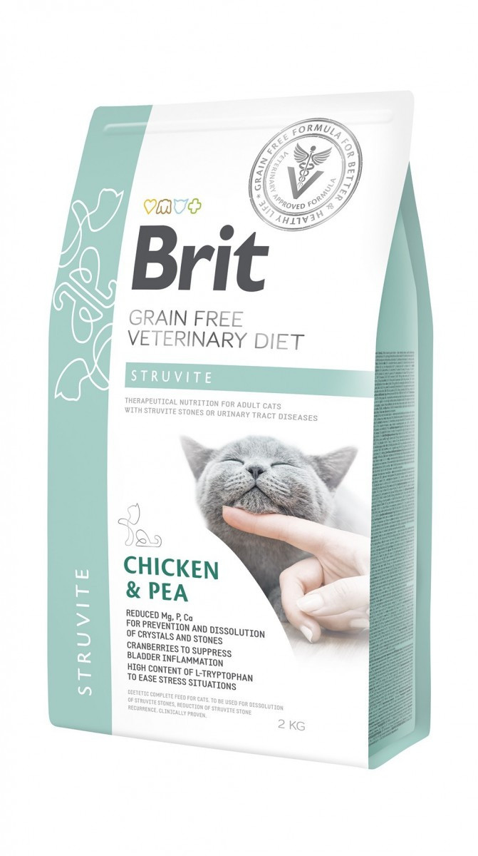 купить Brit GF Veterinary Diet для котов STRUVITE